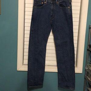 Levi's Men's 505 Jeans Size 34